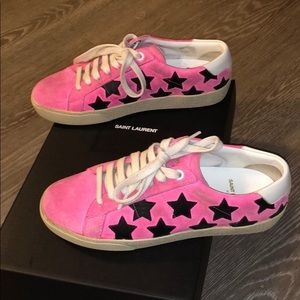 Saint Laurent Court Classic Star Sneakers